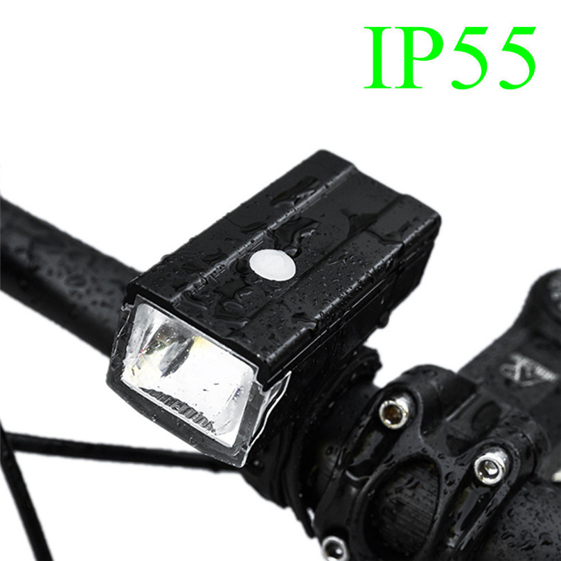 Prevent Glare High Light LED Cycling Bike Lamp USB Rechargeable Bicycle front Light Flashlight built-in battery A30