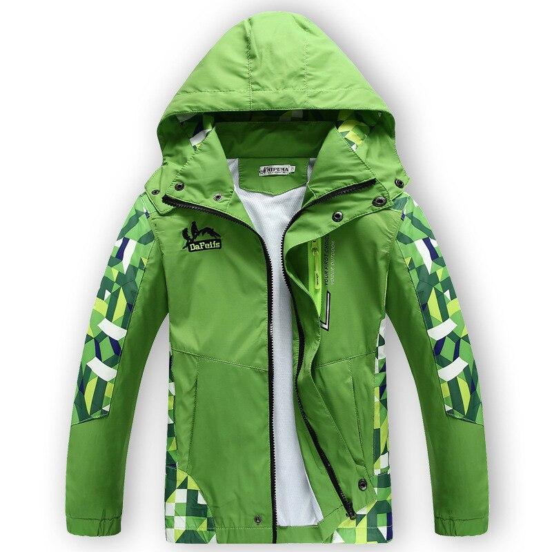 New Spring Autumn Children Boyu0026#39;s Jackets Coats Kids Active Clothing Double Deck Waterproof ...