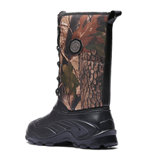 Winter Military Boots Waterproof- Safety Shoes -Snow Boots with Fur