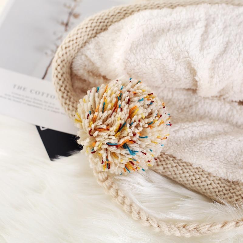 Invierno nueva llegada sombrero de lana de Corea del Sur de protectores auditivos de chica dulce sombrero Casual - 5