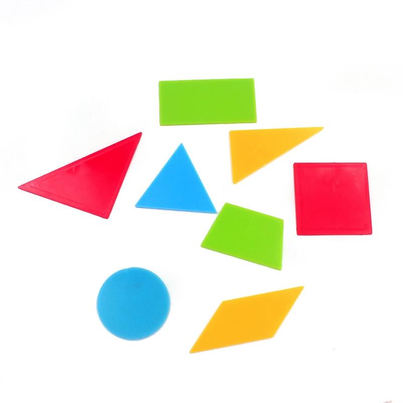 8Pcs/Lot Montessori Mathematics Plastic Toys Colorful