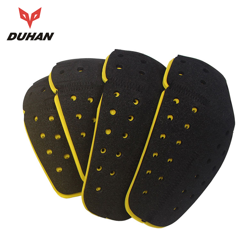 DUHAN Motorcycle Knee Protector EVA Rodilleras Knee Pad Motocross Shoulders Elbows Back Protective Gear Moto Back Pads Biker