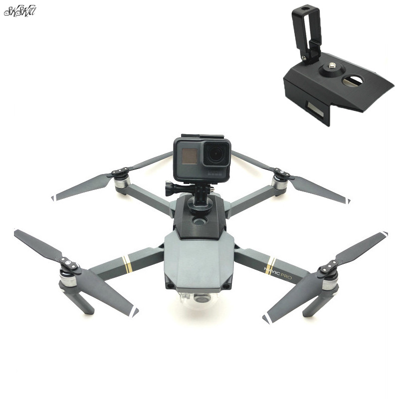 For Gopro Hero 4/5/6/7 & Osmo Action Camera Mount Bracket Holder Conversion Plate For DJI Mavic Pro Drone