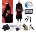 Apparel Naruto Akatsuki Pain Cosplay Costume With All Accessories Set Free Halloween Party Costumes  Shipping