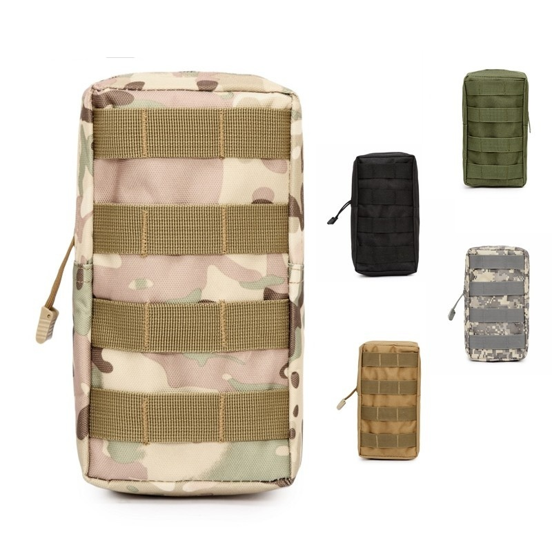 CQC Tactical Molle Bag System Medical Pouch Outdoor Utility Military Airsoft Vest EDC First Aid Waist Pouch