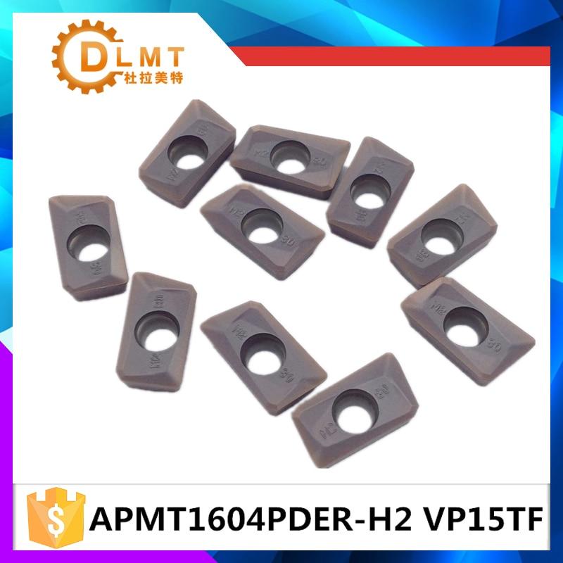 10db / APMT1604PDER M2 VP15TF APMT1604 PDER H2 VP1 betétek a finom - Szerszámgépek és tartozékok - Fénykép 3