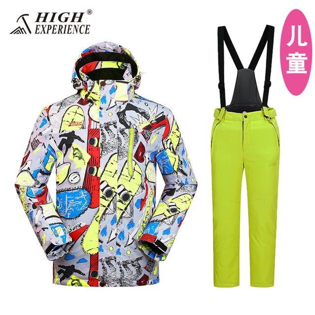 c446d76e5 2018 wintersport snow jacket warm ski suit kids snowboard jacket ...
