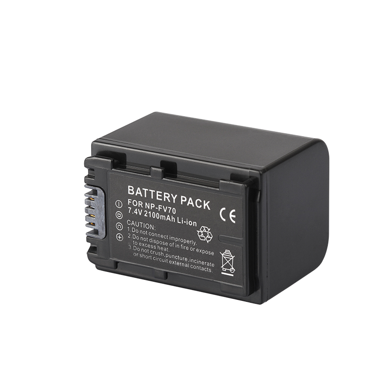 Dinto 1pc 2100mAh NP-FV70 NP FV70 NPFV70 Digital Camera Battery For Sony NP-FV30 FV50 HDR-CX230 CX150 CX350E CX550E