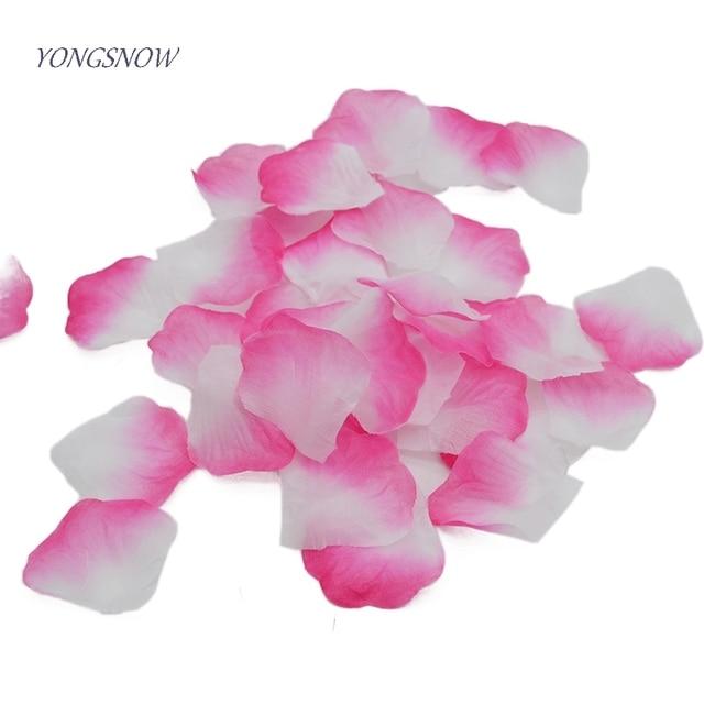 1000pcs silk rose flower petals confetti leaves for wedding 1000pcs silk rose flower petals confetti leaves for wedding decorations party festival table confetti decor artificial mightylinksfo