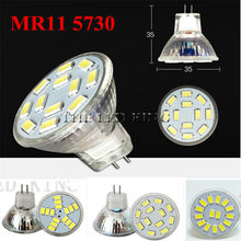 Nueva lámpara LED de alta potencia MR11 shock 9W 12W 15W Dimmable BLOW reflector cálido blanco fresco MR 11 12V lámpara GU4 220V(China)