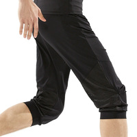 New Brand Summer Men Loose Yoga Gym Pants Quick Dry Elastic Breathable Running Training Fitness Sport