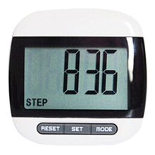 SZ-LGFM-Multifunction LCD Pedometer Walking, Step, Distance, Calorie Calculation Counter -Black