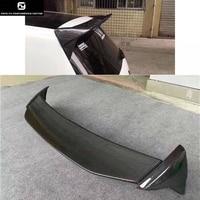 Гольф 7 MK7 крыши крыла углеродного волокна задний спойлер для Volkswagen VW Golf 7 Aspec стиль 2014UP