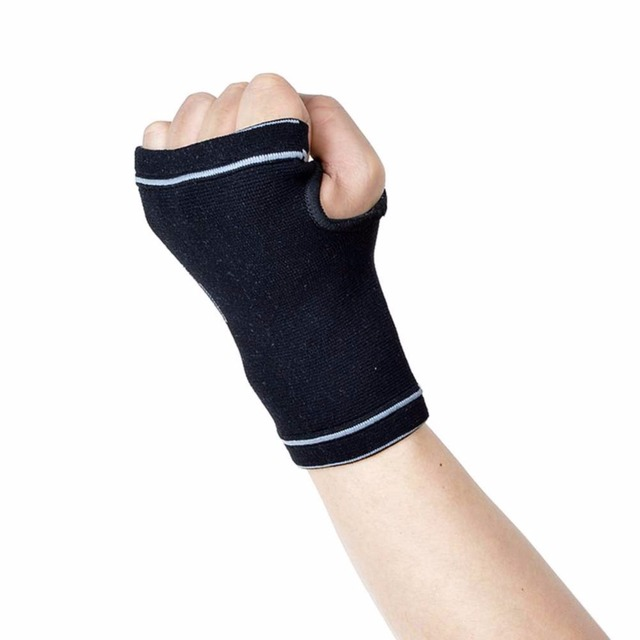 62dcb89f4d1 Hand Wrist Brace Breathable Warmth Training Elastic Nylon Glove Sleeve Wrap  For Fitness Basketball Volleyball Climbing Sports