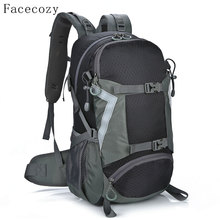 Facecozy Outdoor Hiking Backpack 30L Instant Waterproof Anti-tear Quality Bag Men Women Climbing Travel Cycling Sports Backpack