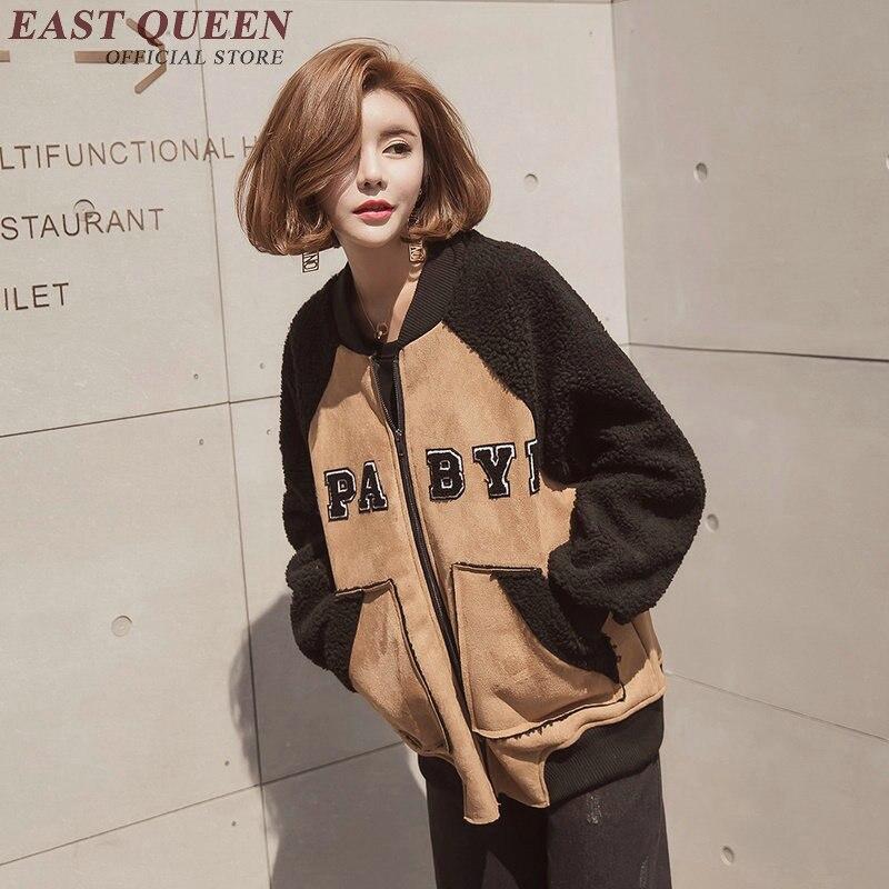 Bomber jacket women 2018 women bomber jackets harajuku style long sleeve autumn jackets for women DD212 C