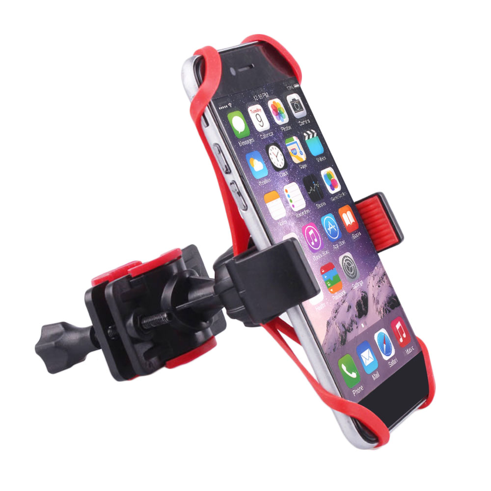 New Motorcycle Bicycle Bike Handlebar Mount Holder Band For iPhone 6 6S 5S