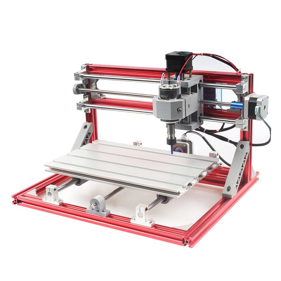 3 axes graveur Machine CNC 3018 PCB fraisage gravure sculpture routeur Mini bricolage 3018 Machine avec GBRL contrôleur broche ER11