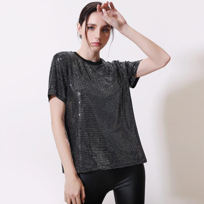 Damentaschen ZuverläSsig Frauen Rollkragen Kurzarm Baumwolle Feste Beiläufige Bluse Top T Shirt Rundhals Beiläufige Dünne Plus Größe Roupas Femininas