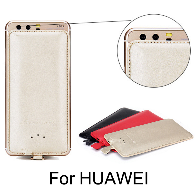 Ultra-mince Batterie Cas Chargeur pour HUAWEI Honor 9 8 7 6 5 4 3 4C Pro compagnon P 10 Plus Lite NOVA 2 Mobile téléphone banque D'alimentation de secours