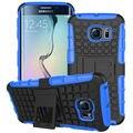 Fundas para samsung s6 edge 5.1 polegadas armadura case kickstand híbrido difícil pc + tpu telefone de volta casos cobre para samsung galaxy s6 edge