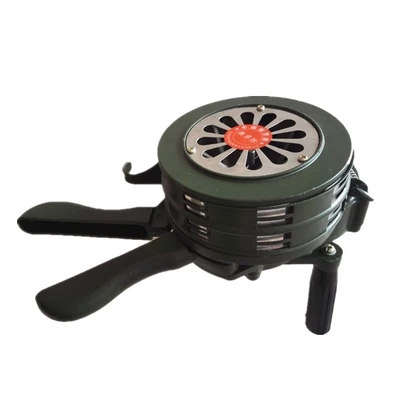 Safurance Green Aluminium alloy Crank Hand Operated Air Raid Emergency Safety Alarm Siren Home Self Protection SecuritySafurance Green Aluminium alloy Crank Hand Operated Air Raid Emergency Safety Alarm Siren Home Self Protection Security