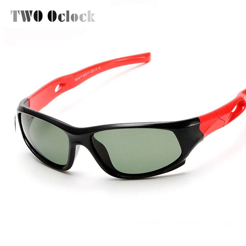 9419aa4b5bd5c DOIS Oclock Marca TAC Flexível Crianças Óculos Polarizados Óculos de Sol Da  Menina do Menino sapatas do Esporte da Criança Óculos de Sol UV 100% Óculos  De ...