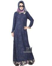 Fashion Muslim Dress Abaya in Dubai Islamic Clothing For Women Muslim Abaya Jilbab Djellaba Robe Musulmane