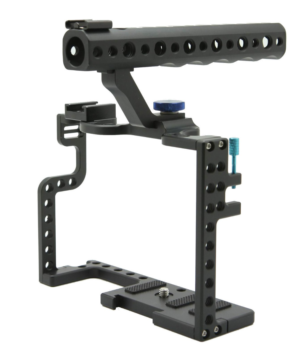 DSLR Camera Cage With Top Handle Grip For Panasonic Lumix GH5 Camera Rig taste taste live at the isle of wight festival 1970 2 lp