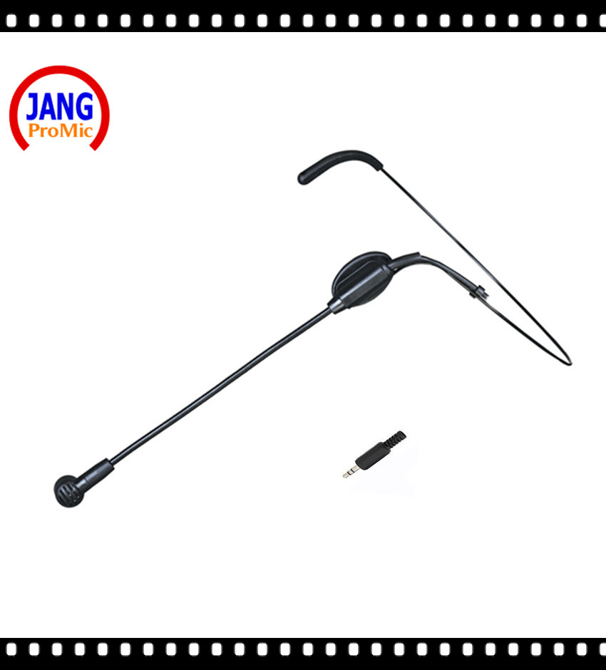 Professional Black Wired Microphone Condenser Headset