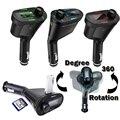 3 Colores Kit de Coche Reproductor de música MP3 Transmisor Inalámbrico de FM Modulador De Radio Con USB SD MMC + Control Remoto FreeShipping QP0026-30