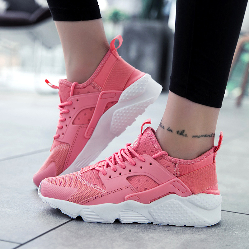 Home Summer Tenis Feminino Shoes Woman Sneakers Spor Chaussures Femme Zapatos De Mujer Women 2019 Nouveau Modis Casual Red Sneaker 100% Original