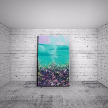 Fashion Modern living room decor flower landscape oil painting handpainted large canvas picture sea landscape ABSTRACT WALL ART