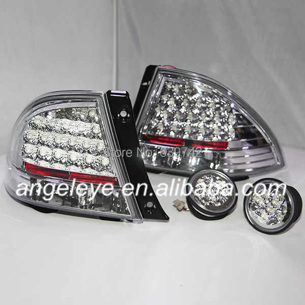 For Lexus IS200 1998 TO 2005 Tail Lamp  Chrome Housing Color JY цена 2017