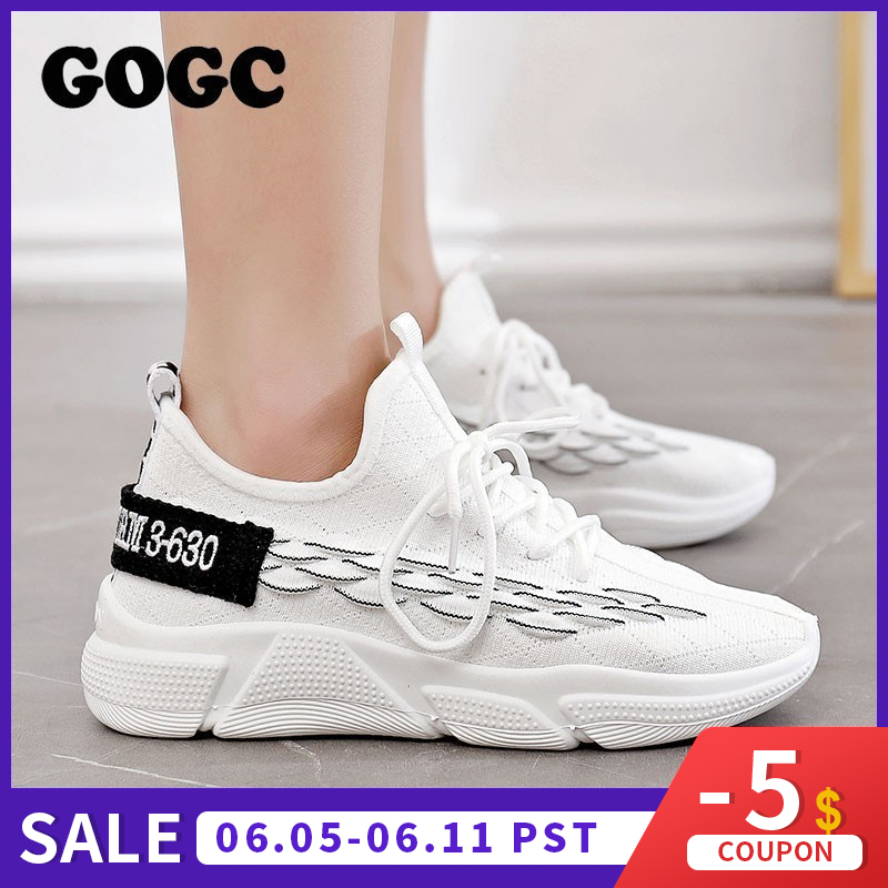GOGC Shoes Woman Sneakers zapatos de mujer Female platform Lace Up Causal Shoe for Women basket femme chaussures Flat Shoe 690GOGC Shoes Woman Sneakers zapatos de mujer Female platform Lace Up Causal Shoe for Women basket femme chaussures Flat Shoe 690