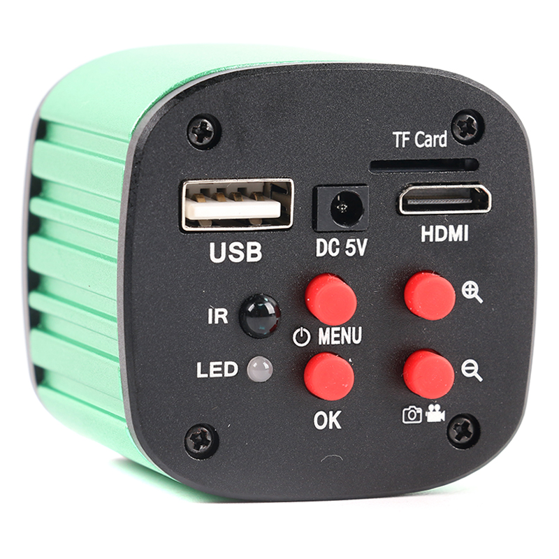 16MP 1080 P SONY Sensor USB HDMI Elektronische Digital Industrie Video Mikroskop C Mount Kamera Software Messen Für PCB Reparatur