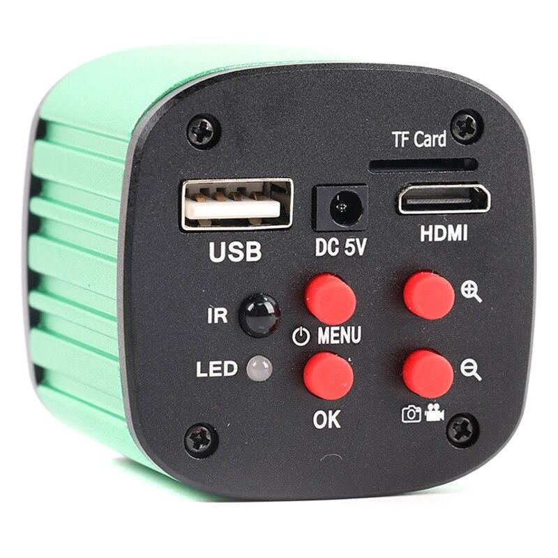 16MP 1080 P SONY Sensore USB HDMI Elettronico Digitale Industriale Video Microscopio C Mount Macchina Fotografica di Software di Misura Per La Riparazione PCB