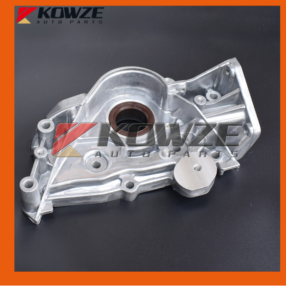 Engine Oil Pump For Mitsubishi PAJERO MONTERO Shogun I 1st II 2nd 3.0L 6G72 1983-2004 12V MD154258 power steering oil pump assy for mitsubishi pajero montero shogun ii 3 0 3 5 l v6 6g72 6g74 mr267662 page 1 page 2