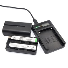 2 Шт. 2600mAhNP-F550 NP F550 NPF550 Литий-Ионные батареи и ЖК-USB Зарядное Устройство для Sony NP-F570 NP-F730 NP-F750 NP-F530 Привет-8