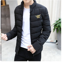 2017 Air Force One Winter Fall Jacket Ultra Light Man Collar Down Fashion Men S Coat