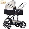 Bora carrinho de bebê carrinho de criança carrinho de bebê dobrável luz quatro estações geral