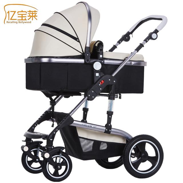 Bora cochecito de bebé cochecito de bebé carro ligero plegable de cuatro estaciones en general