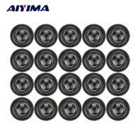 AIYIMA-minialtavoces portátiles de 1 pulgada y 28MM, altavoz auriculares de 1W y 8 Ohm, altavoz para móvil, portátil, DVD/EVD, 20 Uds.