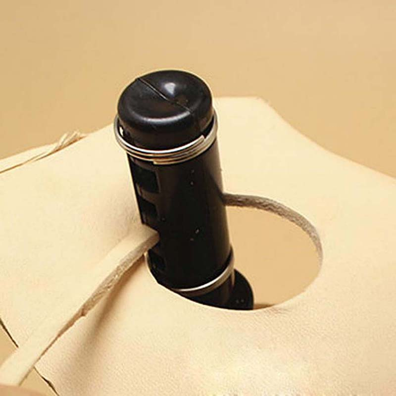 2019 New Black Rotary Leather Cutter Rotating Leather Tool DIY Leather Cutting Tool Leather Strap Cutter