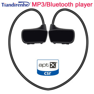 Image 1 - APTX Mp3 Player 4GB 8GB 16GB Sports MP3 Bluetooth 5.0 hifi Music Player Walkman Earphone Headphone Running Player PK WS413 WS615