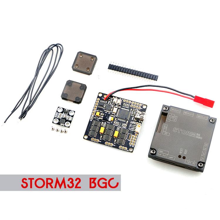 все цены на F18887 Storm32 BGC 3-Axle 32 Bit STM32 Brushless Gimbal Controller Board with Dual Gyroscope for DIY FPV Quadcopter Multicopter онлайн