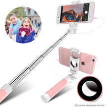 FLOVEME Wired Candy Selfie Stick For iPhone 6 6s Plus 5 5s For Android Cellphone Selfie