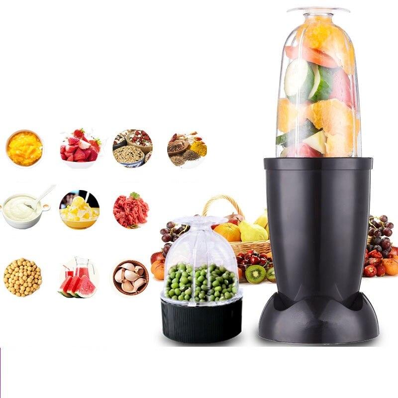 220V Household Electric Multifunctional Juicer Automatic Vegetable Fruit Juice Extractor Machine Grain Grinder EU/AU/UK/US Plug