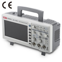 UNI T UTD2052CL 7inch LCD Digital Storage Oscilloscope 2 channel 50MHz 500Ms/s Unit USB interface Scopemeter Scope meter with CD