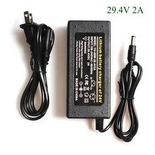H D S N H Chất Lượng Cao 29.4V 2A Xe Đạp Điện Sạc Pin Lithium Cho 24V 2A Lithium bộ Pin RCA Đầu Cắm Sạc